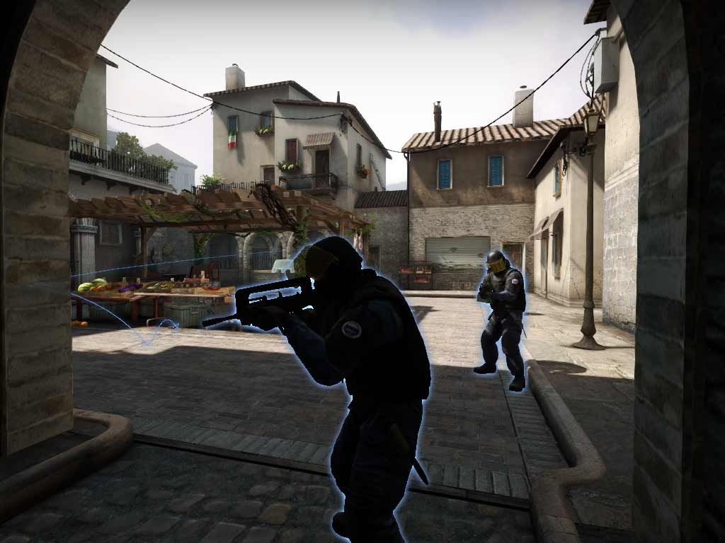 Spectator glow in Counter-Strike: Global Offensive